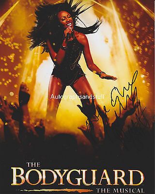 Beverley Knight HAND SIGNED 8x10 Photo Autograph The Bodyguard, Shoulda, Woulda