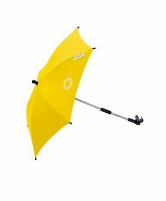 Almost-New Universal Bugaboo Stroller Parasol Fairly Bright Yellow Shade