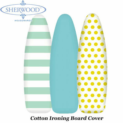 Luxury Cotton Ironing Board Cover Fitted Iron Cover 128x40CM