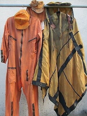 THE POSTMAN Screen Used Soldier Wardrobe POST APOCALYPTIC Movie Prop Costume Lot