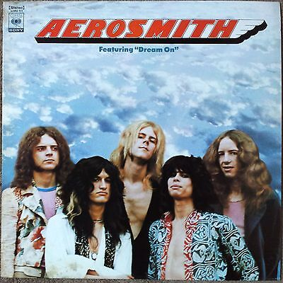1975 Aerosmith Self Titled SOPO 111 Japan S/T Dream On Steven Tyler