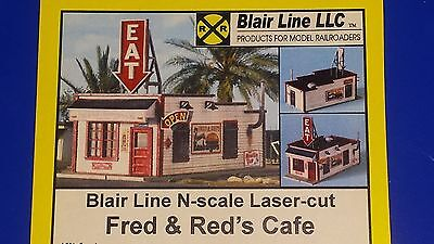 N Scale Fred and Red's Cafe