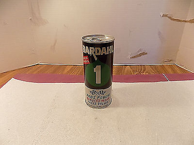Vintage  Bardahl #1 Power Concentrate  Oil Can Full.