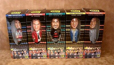 2001 Best Buy NSYNC Bobble Head Dolls Complete Set Of Five New in Box TIMBERLAKE
