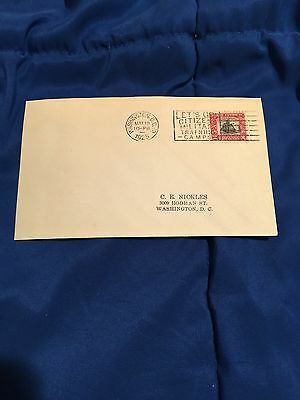 US First Day Cover 620 2 cent 1925