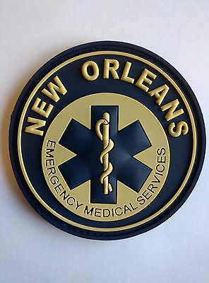 New Orleans EMS Patch - nightwatch 1 Week SALE! + Free SHIP