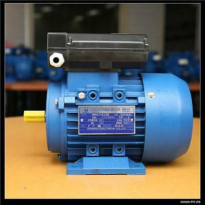 0.37kw/0.5HP 1400rpm shaft 14mm Electricmotor one phase 240v with pulley package