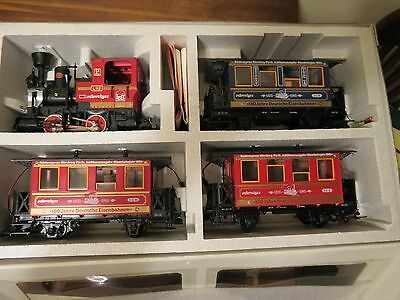 Lgb Set 20535 The Big Red Train New