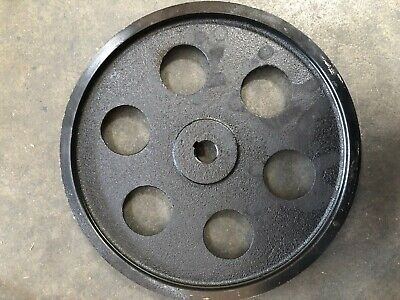 Pulley for motor. Single Groove 350mm. shaft size: 26mm