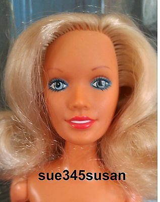 Vintage 1978 Kenner Darci Cover Girl Doll - Platinum Blonde #47400 NUDE