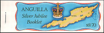 Anguilla #271-274 MNH complete booklet