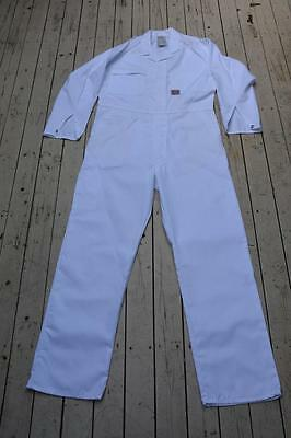 KING GEE Work Wear. LIGHTWEIGHT WHITE OVERALLS. Size 89L. NEW. FULL COVER