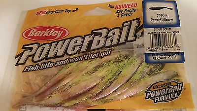 "Berkley Power Bait - 3"" /8cm Power Minnow - 1 pack 15 pieces"
