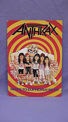 Anthrax ~ Road To Euphoria '88 '89 ~ Tour Booklet
