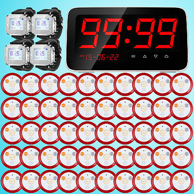 KERUI 50Pcs Pagers Wireless Display/Watch Service Calling System For Restaurant