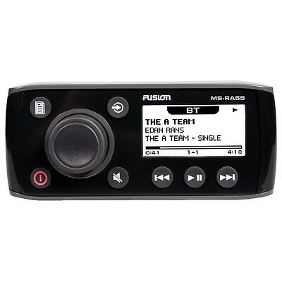 FUSION MS-RA55 Compact Marine Stereo w/Bluetooth Audio Streaming 010-01716-00