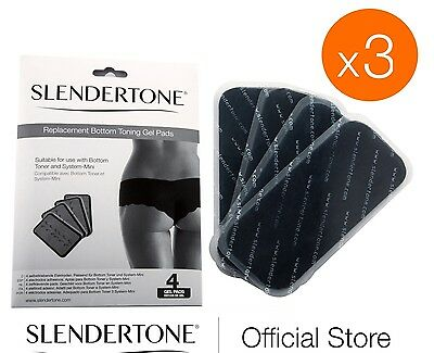 Slendertone Replacement Pads Bottom & Mini Toner-3 FOR 2 OFFER 3 FULL SETS PADS