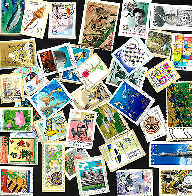 Over 100 Mixed Japanese Commemoratives from Kiloware on paper Ref J100 17/02.