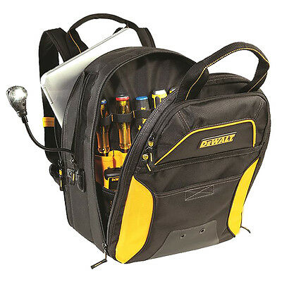 CLC DGCL33 DEWALT® 33 Pocket Lighted USB Charging Tool Backpack DGCL33