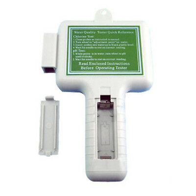 Water Quality PH CL2 Chlorine Level Tester Meter Swimming Pool Spa Water Test to