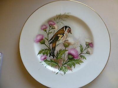 Royal Worcester Goldfinch Plate Signed M Hague