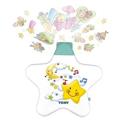 Tomy Y7585 White Baby Bedtime Soothing Lullabies Starlight Dreamshow New