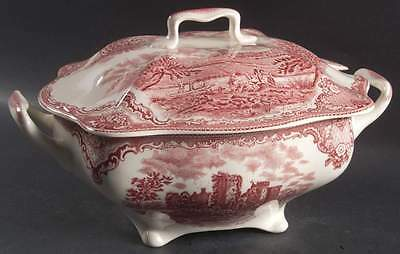 Johnson Brothers OLD BRITAIN CASTLES PINK Rectangular Tureen 5921534