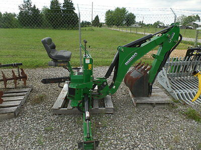 Rhino 85C 3 Point Hitch Backhoe Attachment