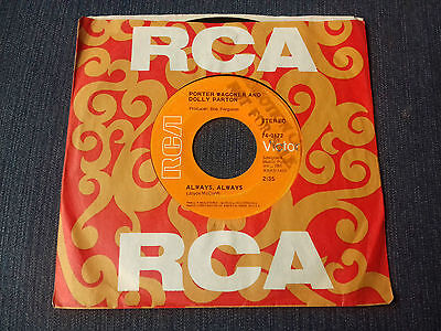Dolly Parton Wagoner , Hyper Rare Usa  Promo , Always , Rca , Mint Condition Wow