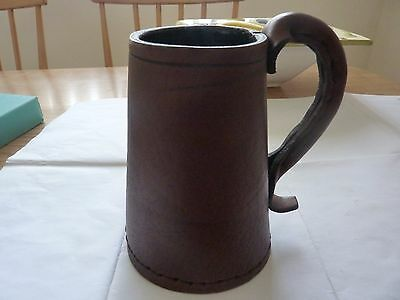 leather tankard