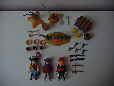 Playmobil 3794 Piraten Figuren tipo pion corsair buccaneer pirata pirate