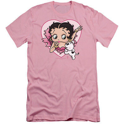 Boop/I Love Betty - S/S Adult 30/1 - Pink - Sm