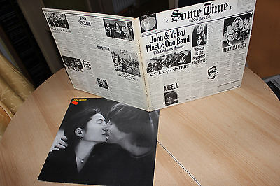 LP Sammlung von John Lennon & Yoko Ono / Plastic Ono Band / Sometime in New York