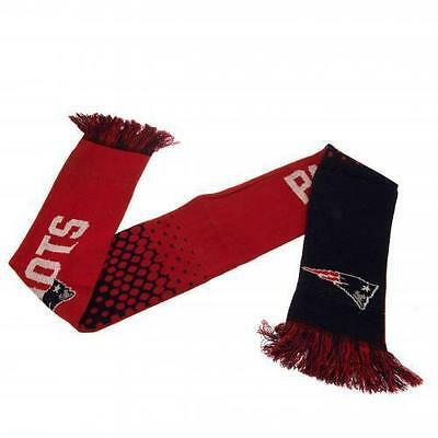 New England Patriots Official American Football Club Nfl Team Knit Scarf
