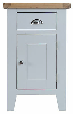 Hartwell Grey Painted Small Cupboard / Cabinet 50cm 35cm 80cm