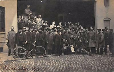 Cpa 54 Luneville Carte Photo Situee A Luneville 1911