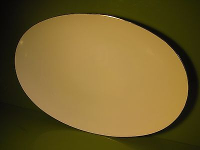 Thomas Germany Medallion Thin Platinum Band Large Oval Serving Platter in VGC