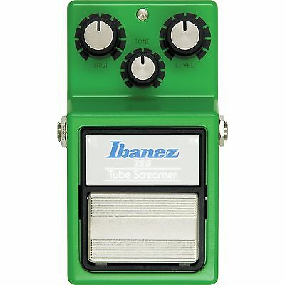 NEW IBANEZ TS9 TUBE SCREAMER OVERDRIVE PEDAL w/ FREE CABLE 0$ US SHIPPING