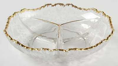 Cambridge WILDFLOWER 3 Part Relish Dish S48710G2