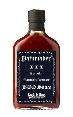 (100ml € 3,99) Painmaker BBQ Sauce rough and horny 200ml