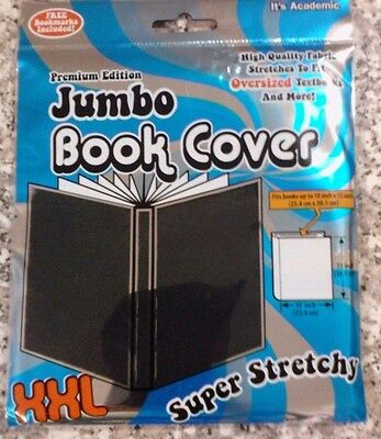 Premium Edition ~ Jumbo Book Cover Xxl ~ Black