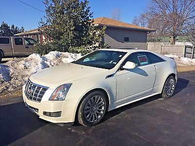 2014 Cadillac CTS Coupe 2-Door 2014 Cadillac CTS4 Coupe 2-Door, AWD - ALL WHEEL DRIVE, Tri-Coat Pearl White Ext