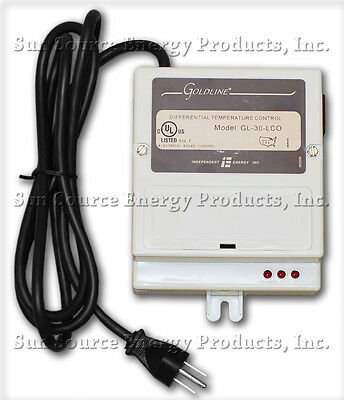 Goldline GL-30-LCO Solar Controller With Line Cord