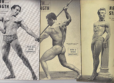 Bodybuilding Health And Strength1950 3 Copies
