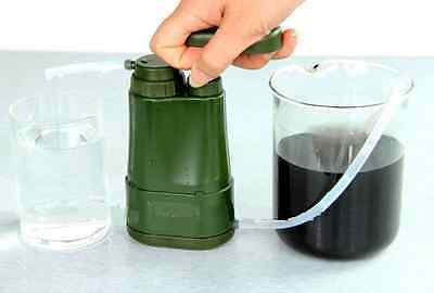 German Armed Forces Outdoor Water Filter Miniwell L610 Camping