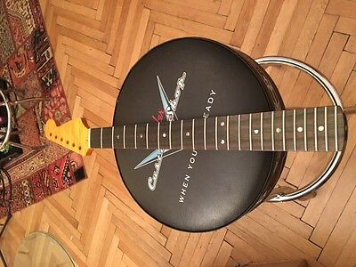 Stratocaster Neck /Hals AAA-flamed, rosewood, vintage finished, nitro