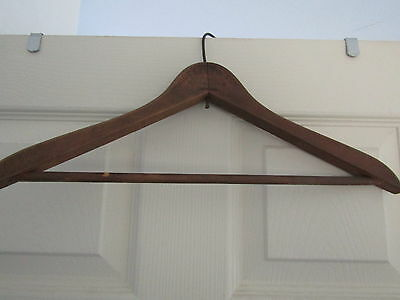 Very Rare Coat Hanger From New York Moe Levy Outfitter To Men And Boys