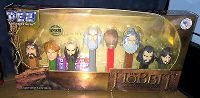 8 PEZ ~ LIMITED EDITION ~ THE HOBBIT ~ COLLECTOR'S SERIES ~ #26860/200k ~ NEW!