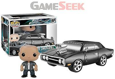 Funko Pop! Rides - Fast And Furious 1970 Charger With Dom Toretto Vinyl Vehicle