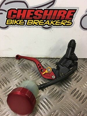 Yamaha Yzfr1 Yzf R1 5vy 2004 2005 2006 Front Brembo Brake Master Cylinder Lever